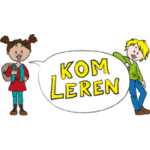 Kom Leren logo