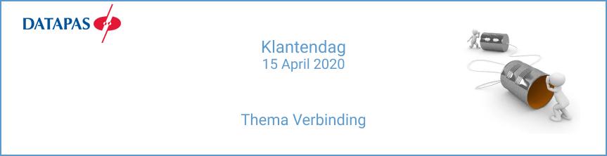 Datapas klantendag 2020 verbinding